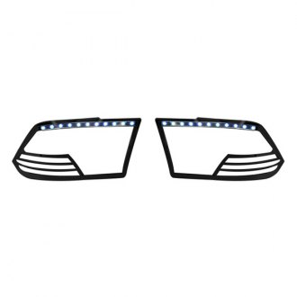 Marquee® - Black LED Headlight Bezels