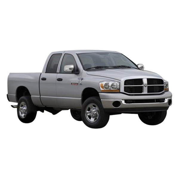 marquee dodge ram 2009 2012 chrome mirror covers. Black Bedroom Furniture Sets. Home Design Ideas