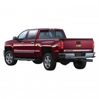 "Marquee® - Chrome Tailgate Trim with ""Silverado / LTZ"" Cut Out"