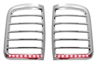Marquee® TLB208 - Chrome LED Tail Light Bezels (Styleside)