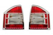 Marquee® - Chrome LED Tail Light Bezels