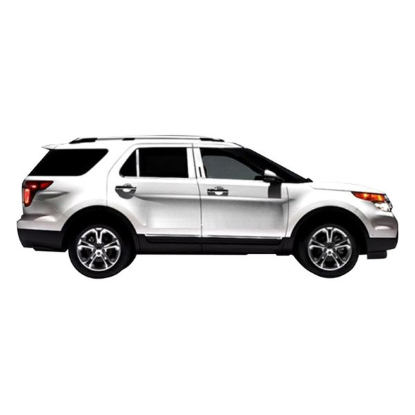 marquee mws 827 ford explorer 2014 chrome window sills. Cars Review. Best American Auto & Cars Review