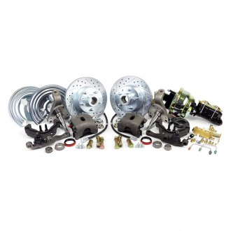 Master Power Brakes® - Legend Series Drilled and Slotted Brake Conversion Kit
