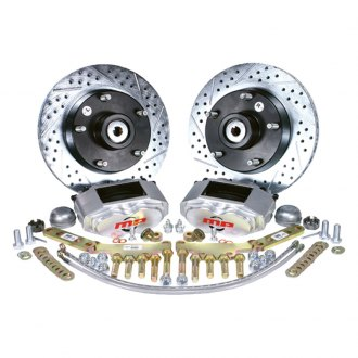 Master Power Brakes® - Rallye Series Drilled and Slotted Brake Conversion Kit
