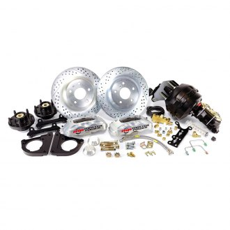 Master Power Brakes® - Pro Driver Drilled and Slotted Brake Conversion Kit