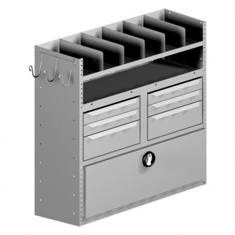 Masterack® - Parts Drawer and Tote Bins Module