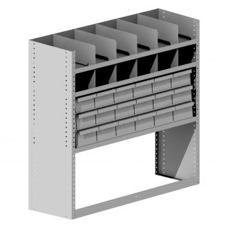 Masterack® - Divided Shelf and Tool Cabinet Module