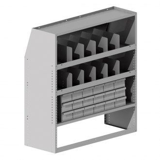 Masterack® - Parts Cabinet with Dividers Module
