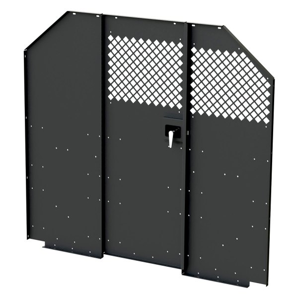 Masterack® - Partition with Hinged Door  sc 1 st  CARiD.com & Masterack® 027088KP - Steel Partition with Hinged Door