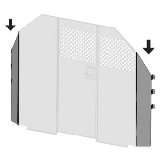 Masterack® - Partition Attachment Panel
