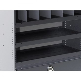 Masterack® - Utility Shelf Module with Dividers and Door