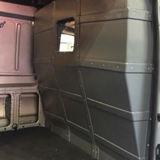 Ford Transit Safety Partitions | Van Bulkheads — CARiD com