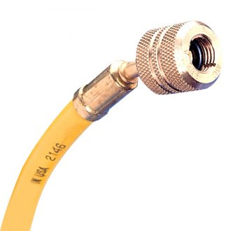 Mastercool® - R-12 Yellow Hose with Auto Shut Off Valve Fittings