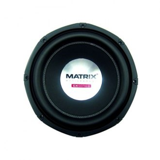 "Matrix Audio® - 10"" CX Series 1000W 4 Ohm DVC Subwoofer"