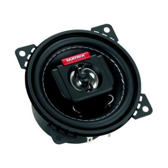 "Matrix Audio® - 4"" 2-Way GTX Series 200W Coaxial Speakers"