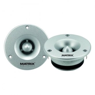 "Matrix Audio® - 1"" Die Cast Bullet Compression 200W Tweeters"