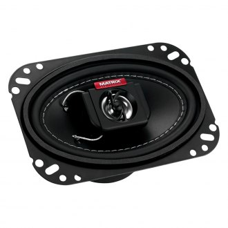 "Matrix Audio® - 4"" x 6"" 2-Way GTX Series 250W Coaxial Speakers"