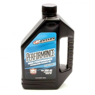Maxima Racing Oils® - 10w40 Petroleum Oil 1 Quart Performance