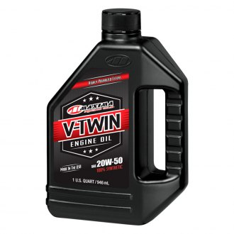 Maxima Racing Oils® - 20W-50 V-Twin Full Sinthetic Engine Oil, 32 oz