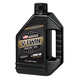 Maxima Racing Oils® - 20W-50 V-Twin Synthetic Engine Oil, 32 oz
