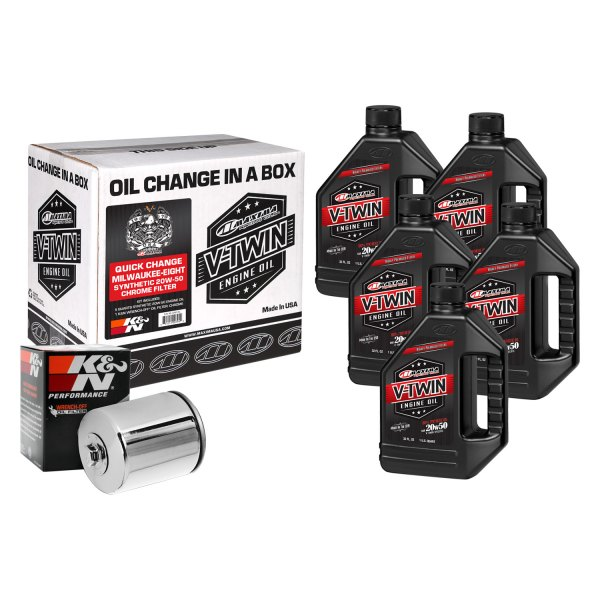 Maxima Racing Oils® - V-Twin Oil Change Kit