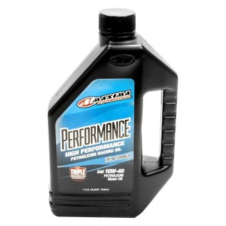 Maxima Racing Oils® - 10W-40 Performance Petroleum Oil 1 Quart
