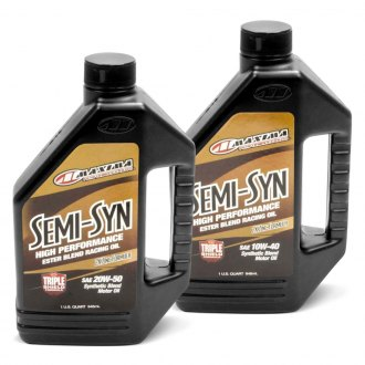 Maxima Racing Oils® - Semi-Syn Synthetic Blend Motor Oil