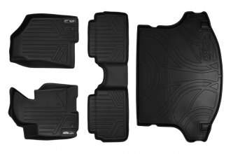 MaxLiner® A0056/B0056/D0079 - MaxFloormat™ Black Floor Liners, Complete Set with Cargo Liner (1st and 2nd Row)