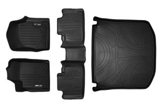 MaxLiner® A0071/B0071/D0071 - MaxFloormat™ Black Floor Liners, Complete Set with Cargo Liner (1st and 2nd Row)