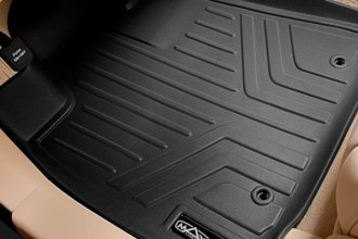MaxLiner® A0131/B0131 - MaxFloormat™ 1st & 2nd Row Black Floor Liners Set