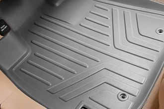 Image may not reflect your exact vehicle! MaxLiner® - MaxFloormat™ Gray Floor Liners, 1st Row