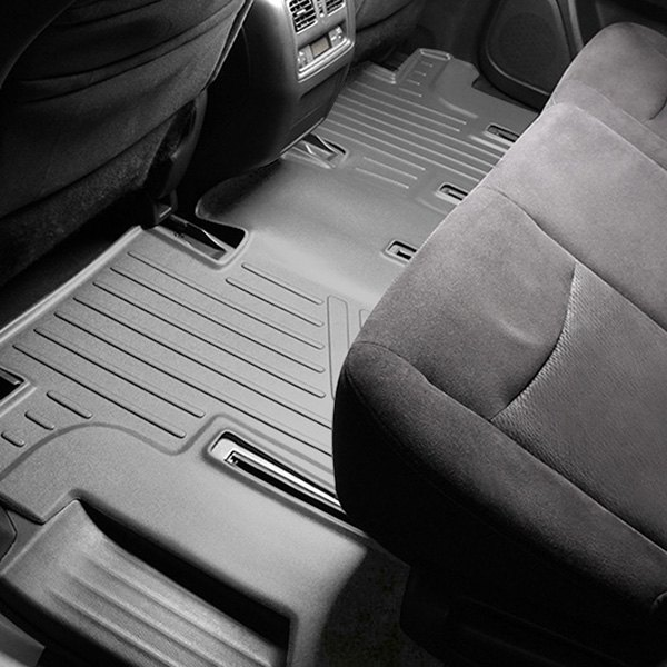 maxliner c2015 maxfloormat 3rd row gray floor liner. Black Bedroom Furniture Sets. Home Design Ideas