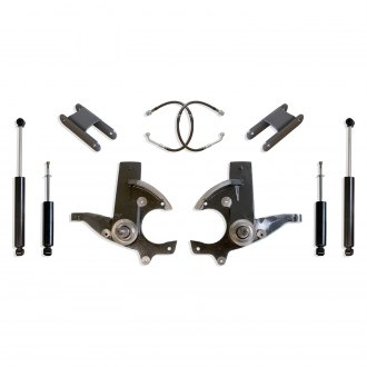 "MaxTrac Suspension® - 3"" x 1"" Front and Rear Suspension Lift Kit"