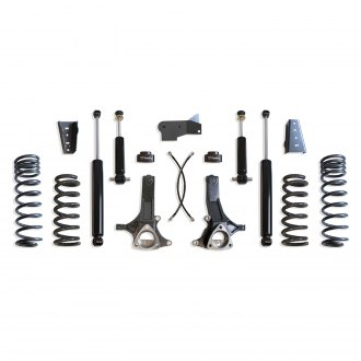 "MaxTrac Suspension® - 7"" x 3"" Front and Rear Suspension Lift Kit"