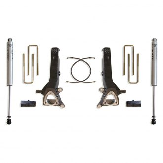 "MaxTrac Suspension® - 4"" x 2"" Max Pro Front and Rear Suspension Lift Kit"