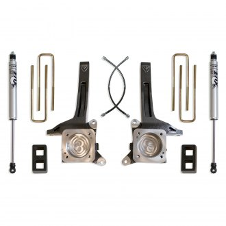 "MaxTrac Suspension® - 3.5"" x 2"" Front and Rear Suspension Lift Kit"