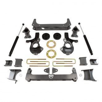 "MaxTrac Suspension® - 7"" x 5"" Front and Rear Suspension Lift Kit"