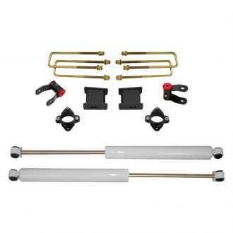 "MaxTrac Suspension® - 4"" Blocks Rear Suspension Lift Kit"