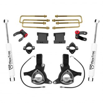 "MaxTrac Suspension® - 7.5"" x 4"" Front and Rear Suspension Lift Kit"