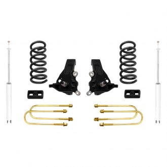 "MaxTrac Suspension® - 3.5"" x 2"" Front and Rear Lift Kit"