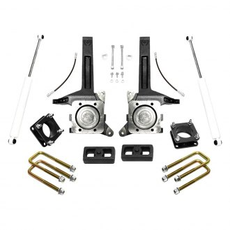 "MaxTrac Suspension® - 6"" x 4"" Front and Rear Suspension Lift Kit"