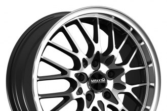 MAXXIM® - CHANCE Gloss Black with Machined Face and Lip