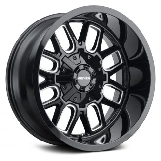 MAYHEM® - 8107 COGENT Black with Milled Accents