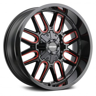 MAYHEM® - 8107 COGENT Black with Red Accents