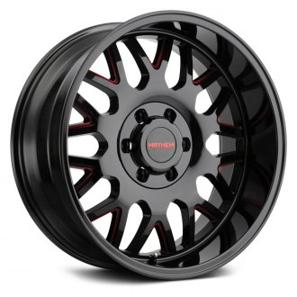 MAYHEM® - 8110 TRIPWIRE Black with Red Accents