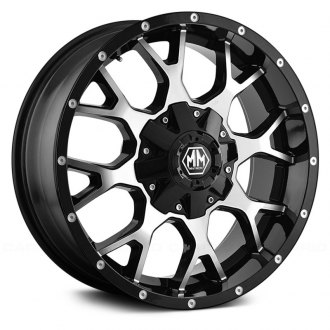 MAYHEM® - 8015 WARRIOR Black with Machined Face
