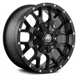 MAYHEM® - WARRIOR Matte Black