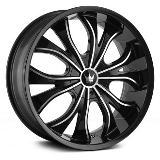 MAZZI® - HUSTLER 342 Black with Machined Face