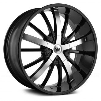 MAZZI® - ESSENCE 364 Gloss Black with Machined Face