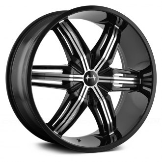 MAZZI® - RUSH 792 Black with Machined Face